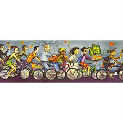 Bike Art - Critical Mass : Hugh D'Andrade - 29543