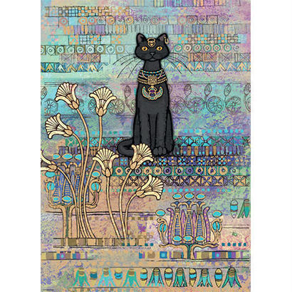 Cats, Egyptian  :  Jane Crowther - 29536