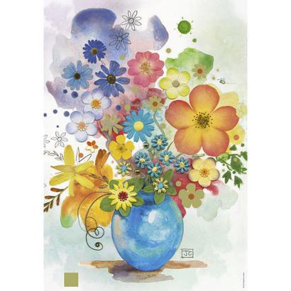 Blue Vase  :  Jane Crowther - 29663