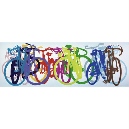 Taliah Lempert : Bike Art - Colourful Row - 29737