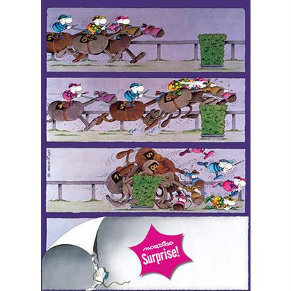 Surprise! Horses : Guillermo Mordillo - 29173