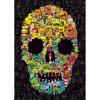29850  Jon Burgerman : Doodle Skull