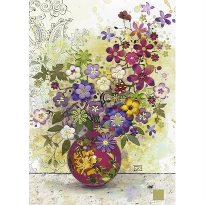 Pink Vase  :  Jane Crowther - 29664