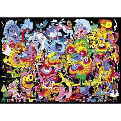 New Psychedoodlic : Jon Burgerman - 29767