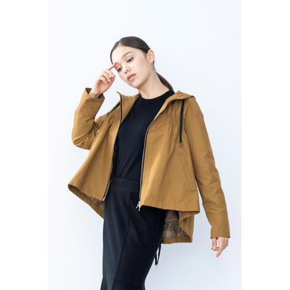 【2018A/W】Aラインギャザーブルゾン/キャメル