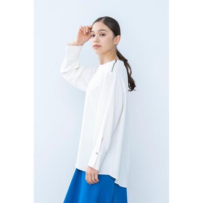 【2018A/W】ショルダーZIPブラウス/アイボリー