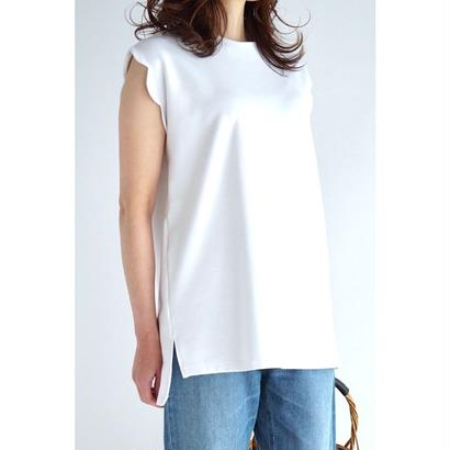 it /  【6月下旬配送開始】SCALLOP SLEEVE TOPS  (WHITE)
