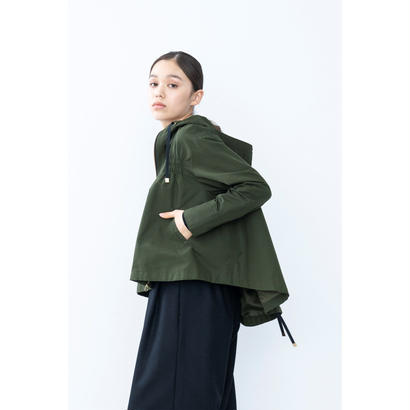 【2018A/W】Aラインギャザーブルゾン/カーキ