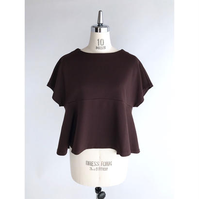 【追加予約】it / MILANO LIB TOPS ( BROWN )