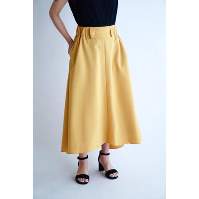 it / 【7月上旬配送開始】MINI FRILL FREAR SKIRT (YELLOW)