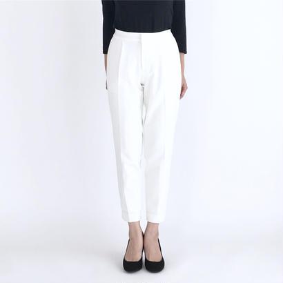 【再入荷】【CanCam3月号掲載アイテム】TAPERED PANTS/WHITE
