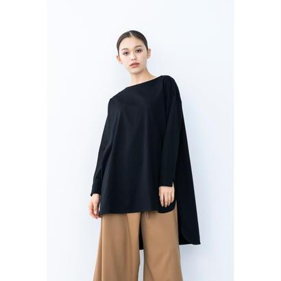【2018A/W】ロングテールトップス/ブラック