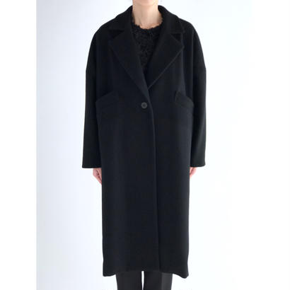 it / LONG CHESTER COAT (BLACK)