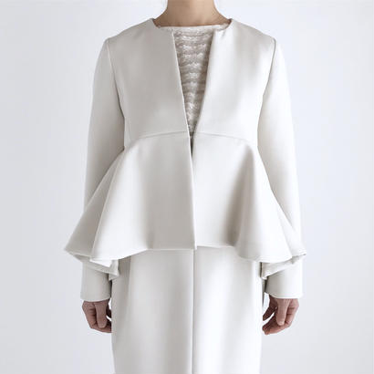 it / W CROSS JACKET (IVORY)