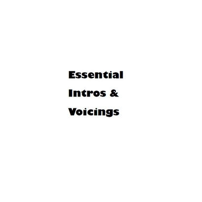 Essential Intros &Voicings