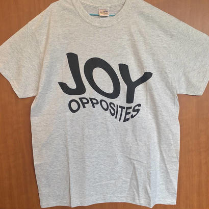 [SALE!] Joy Opposites Big Logo T-shirt (grey)