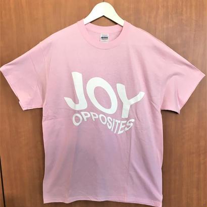 [SALE!] Joy Opposites Big Logo T-shirt (pink)