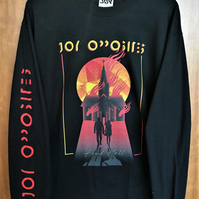 """[New!] """"Find Hell"""" Japan tour 2018 long sleeve T-shirt"""