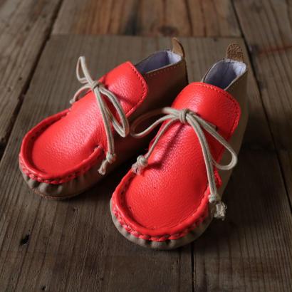 Baby shoes : カラフルモカシンシューズ