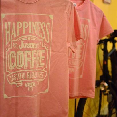 HAPPINESS JUSTINE COFFEE tee