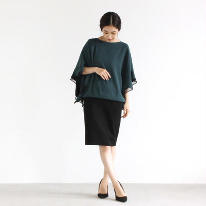 【OUTLET SALE】001193 / 2way 袖フリルワンピース