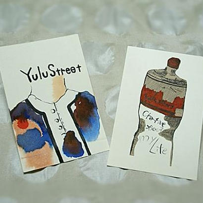 送料込 yulustreet ポストカード 2枚セット《A》