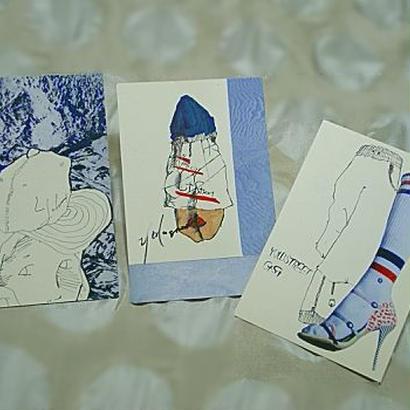 送料込 yulustreet ポストカード 3枚セット《C》
