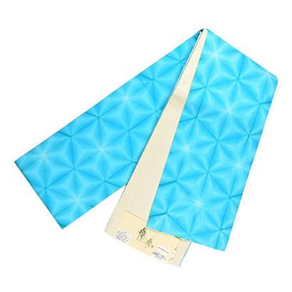 半巾帯 六花(ターコイズ)