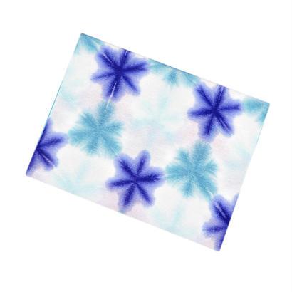 帯揚 / 雪花絞り(ブルー系)
