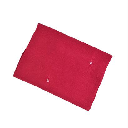 帯揚 / 鹿の子絞り(赤)