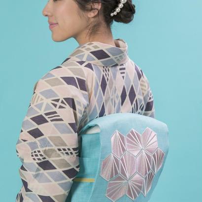 名古屋帯 Mint drape