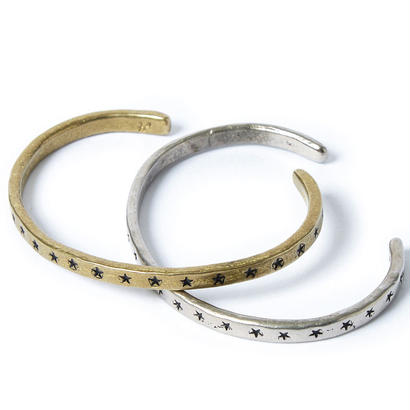 STAR BRASS BANGLE