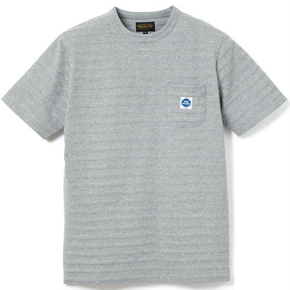 S/S JACQUARD BORDER POCKET TEE