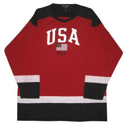 POLO SPORT USA LOGO HOCKEY SHIRT