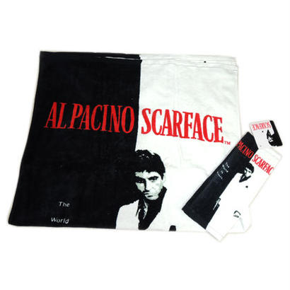 SCARFACE SILHOUETTE BATH TOWEL & HAND TOWEL SET