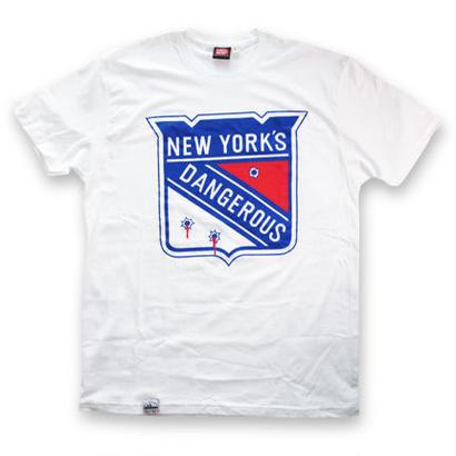 KROYWEN CLOTHING NY DANGEROUS T-SHIRT WHITE