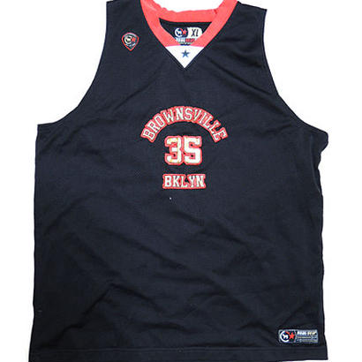 USED BROOKLYN BROWNSVILLE BASKETBALL JERSEY