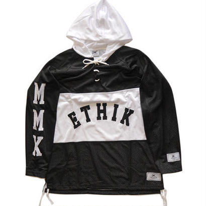 Ethik Mesh Hockey Jerseys Black and White