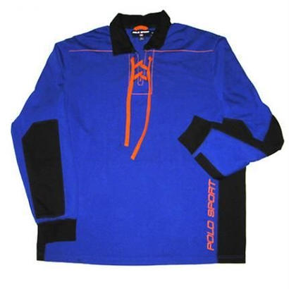 POLO SPORT LACED L/S COTTON JERSEY