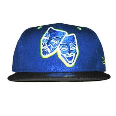 NEW ERA CAP 2 FACE(BLU×BLK)