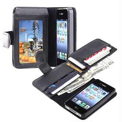 iPhone&WALLET LETHER CASE