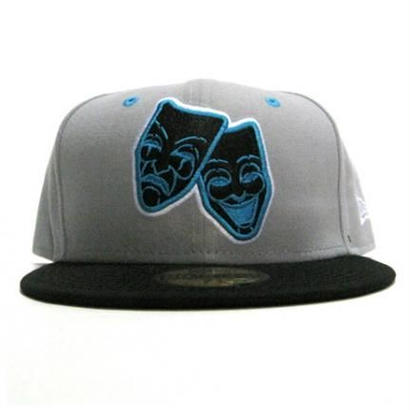 NEW ERA CAP 2 FACE(L.GRY×BLK)