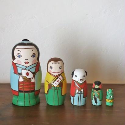 MATRYOSHKA 5sets 桃太郎 MomoTaro