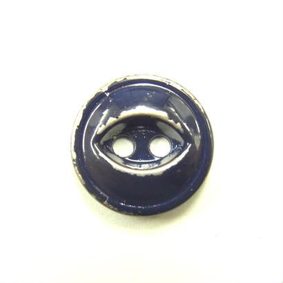 ビンテージソーオンボタン371(10個セット)はがしネイビー キャスト