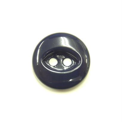 ビンテージソーオンボタン50(10個セット)つやネイビー