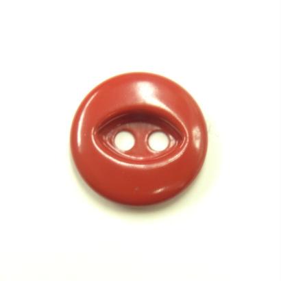 ビンテージソーオンボタン50(10個セット)つやレッド