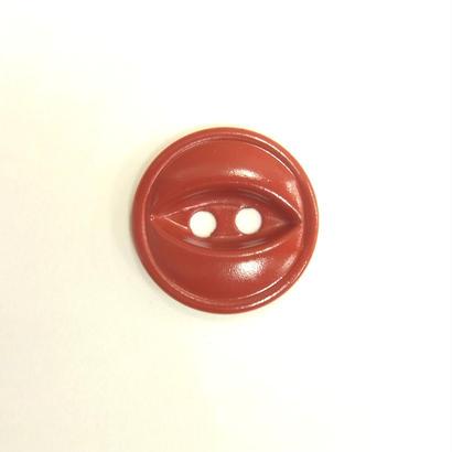 ビンテージソーオンボタン66(10個セット)マットレッド