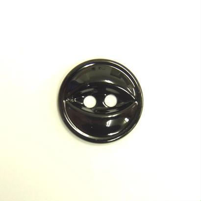 ビンテージソーオンボタン66(10個セット)つやブラック