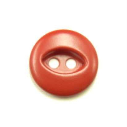 ビンテージソーオンボタン50(10個セット)マットレッド