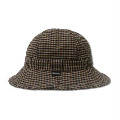 Skate Bell Hat    <Brown Plaid>